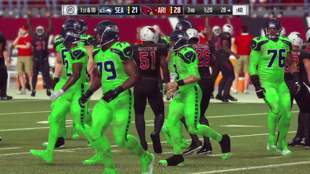 Madden NFL 17 | SEAHAWKS VS CARDINALS | CRAZY OT FINISH!!!!