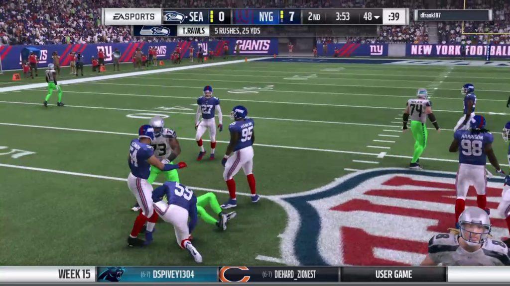 Giants vs Seahawks C32