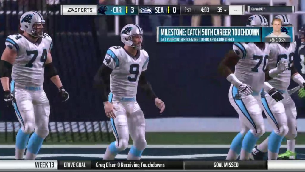 MOF: Panthers vs Seahawks