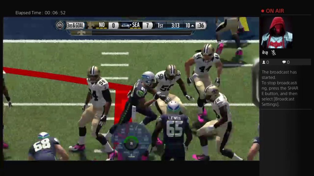 Playing Madden Seahawks Vs Saints WK 8 Preview