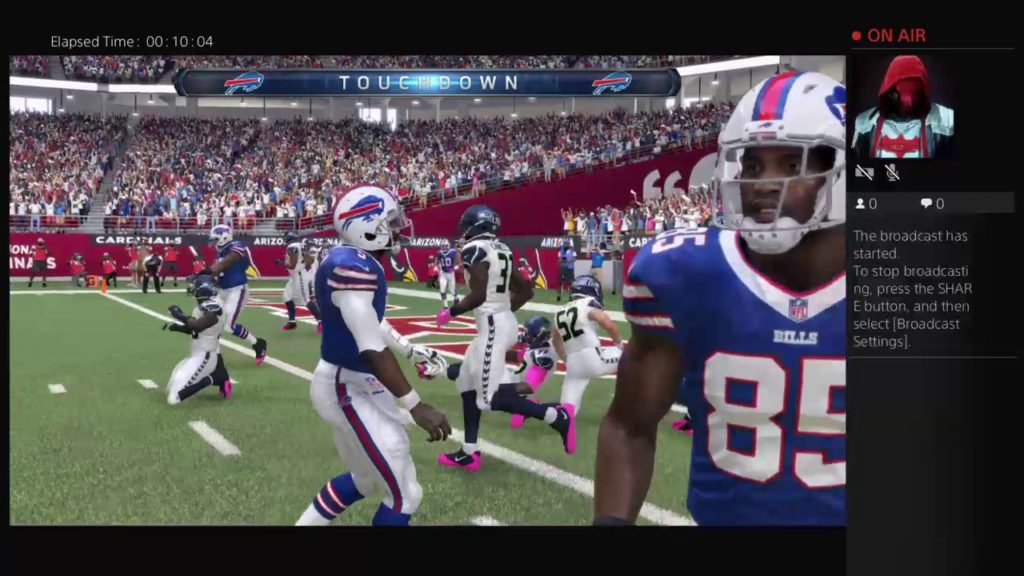 Playing Madden Bills vs Seahawks WK 9 Preview