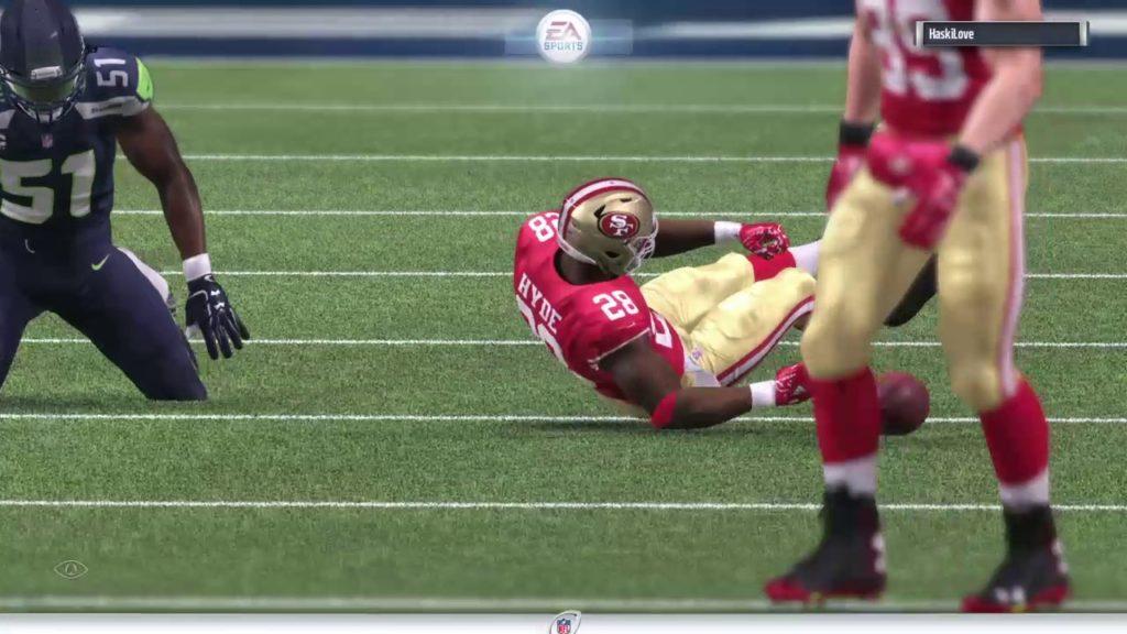 49ers vs Seahawks UFL 1 season PO