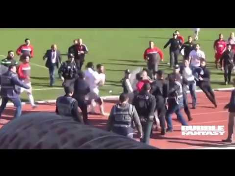 Most Amazing Best Football Fights & Angry Moments You Did Not See This