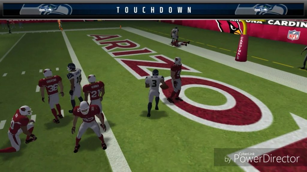 Cardinals vs Seattle madden mobile nfl