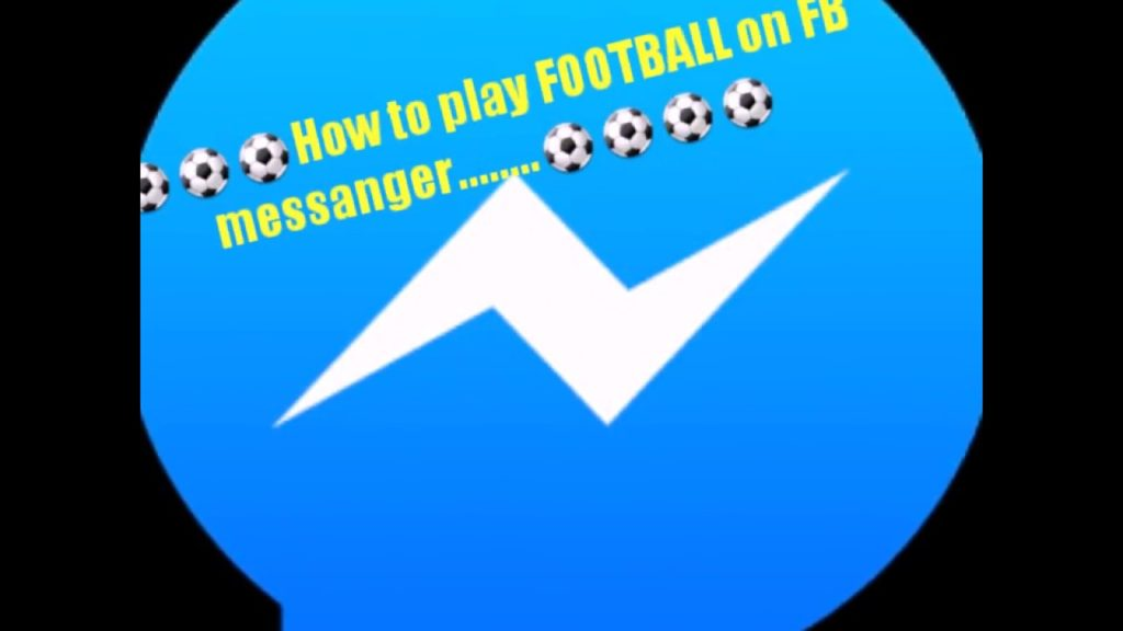 play football on facebook messenger