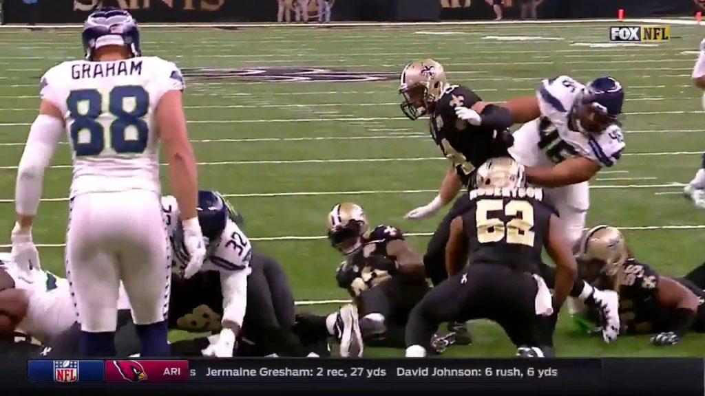 Seahawks vs saints 2016 condesend game