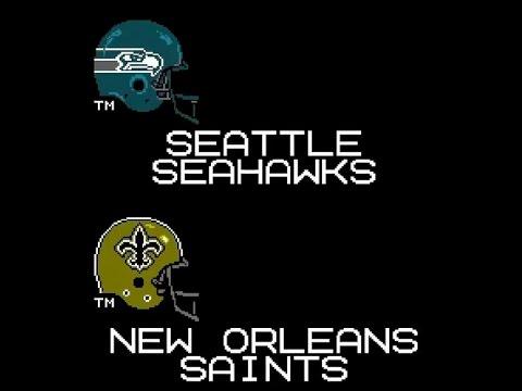 Tecmo Super Seahawks- Week 8 @ Saints