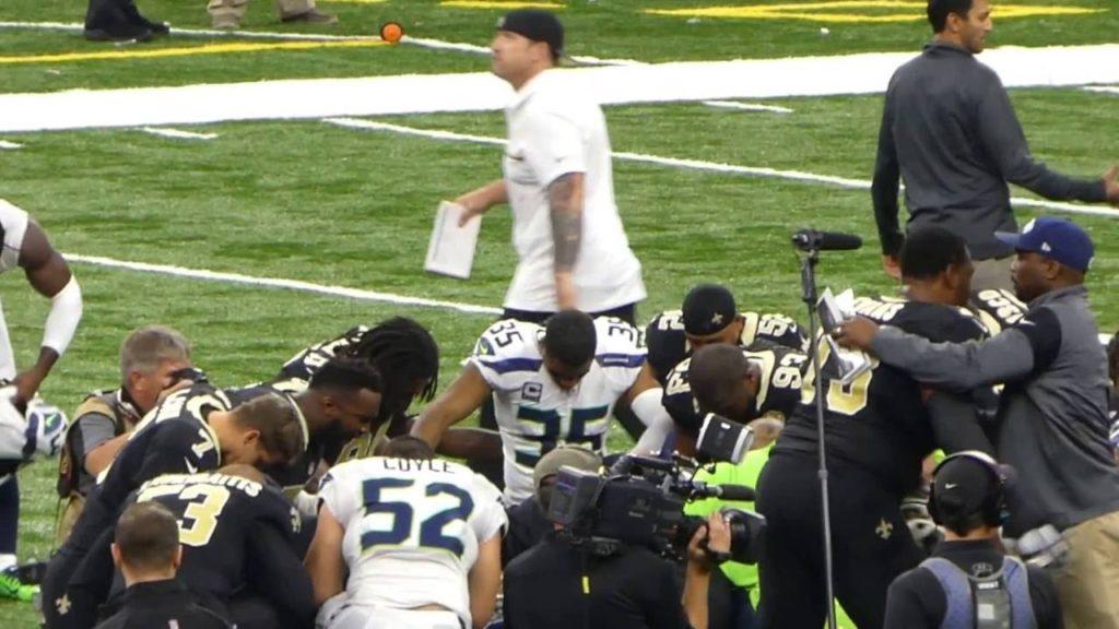Seattle Seahawks & New Orleans Saints – Post Game Prayer 10/30/16