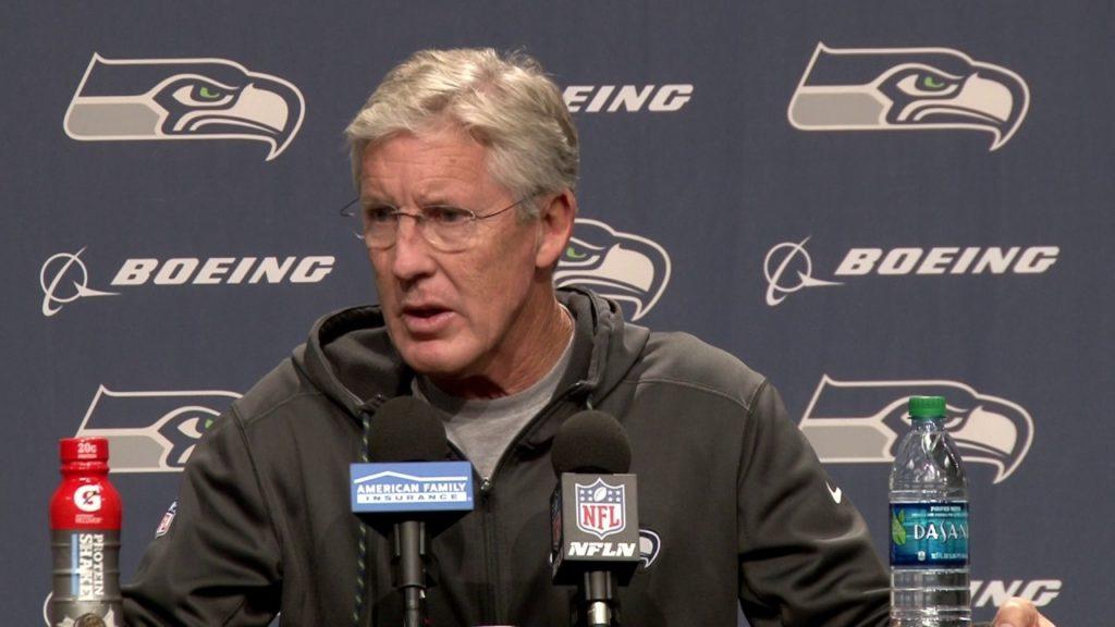 Seahawks Head Coach Pete Carroll Week 9 Monday Press Conference
