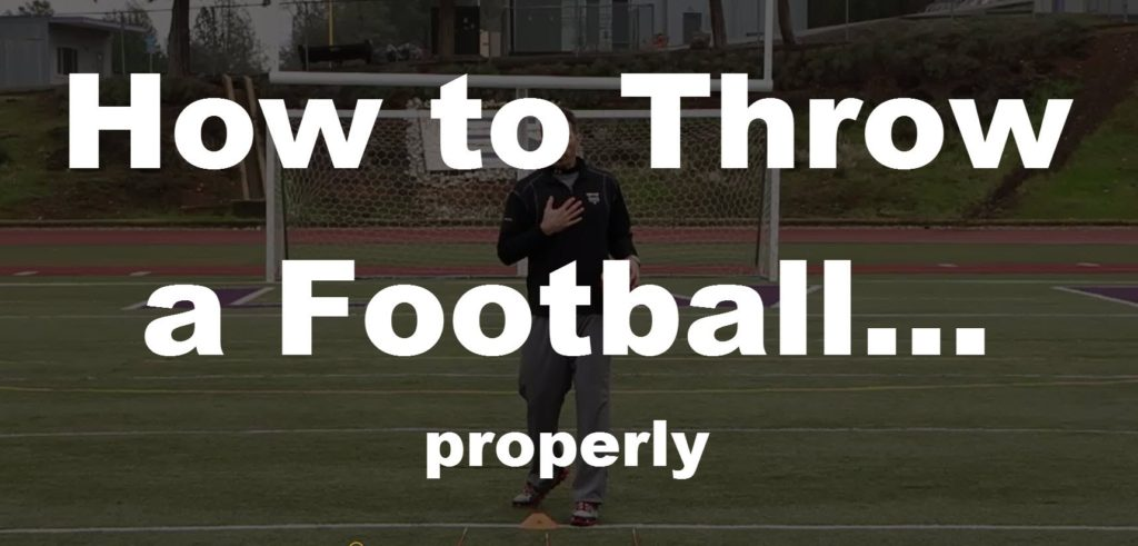 How to Throw a Football – in 3 minutes