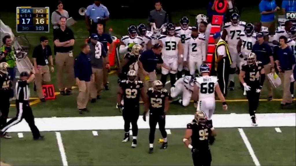 Hawk22.com – Seahawks at Saints – Ed Hochuli error on Justin Britt