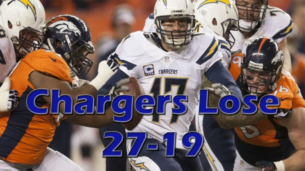 Broncos Embarrass Chargers 27-19, Falcons Beat Green Bay, Saints upset Seahawks