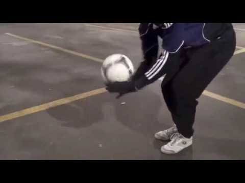 033  How To Juggle A Football For Beginners   Football Juggling Tutorial For Beginners