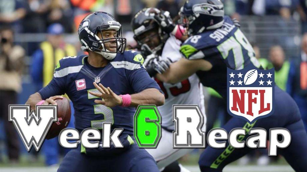 Seattle Seahawks Beat the Falcons 26-24, NFL Week 6 Recap, Cowboys beat Packers, Chiefs win