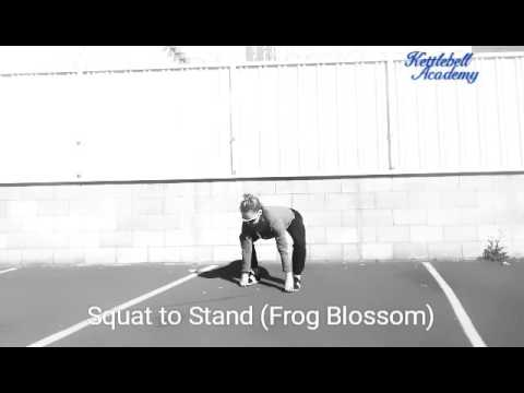 Squat to Stand (Frog Blossom) – Universal Warm Up Exercises