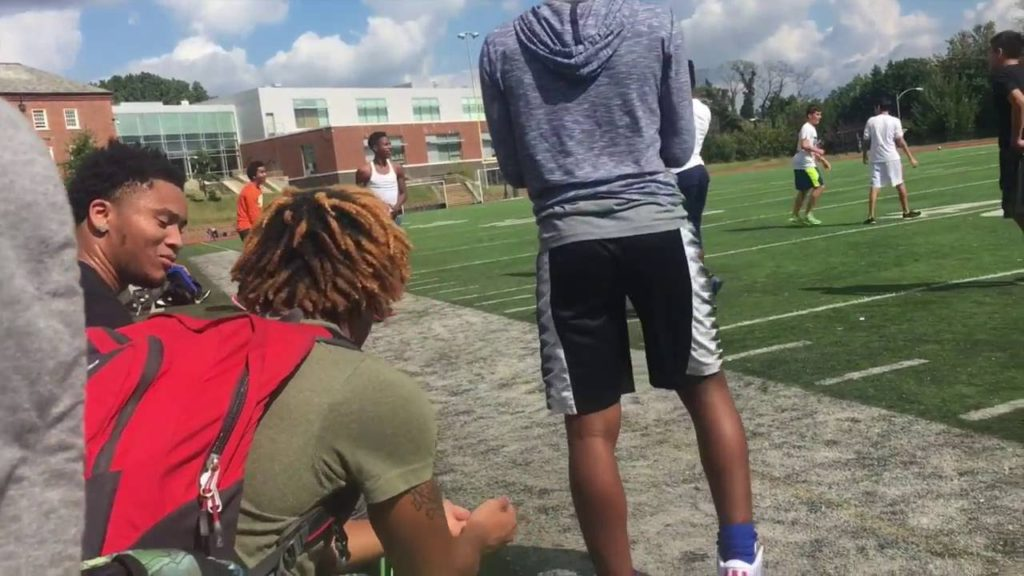 PLAYING FOOTBALL AT SCHOOL! THROWING PEAR AT TEACHER! ANOTHER SCHOOL VLOG!
