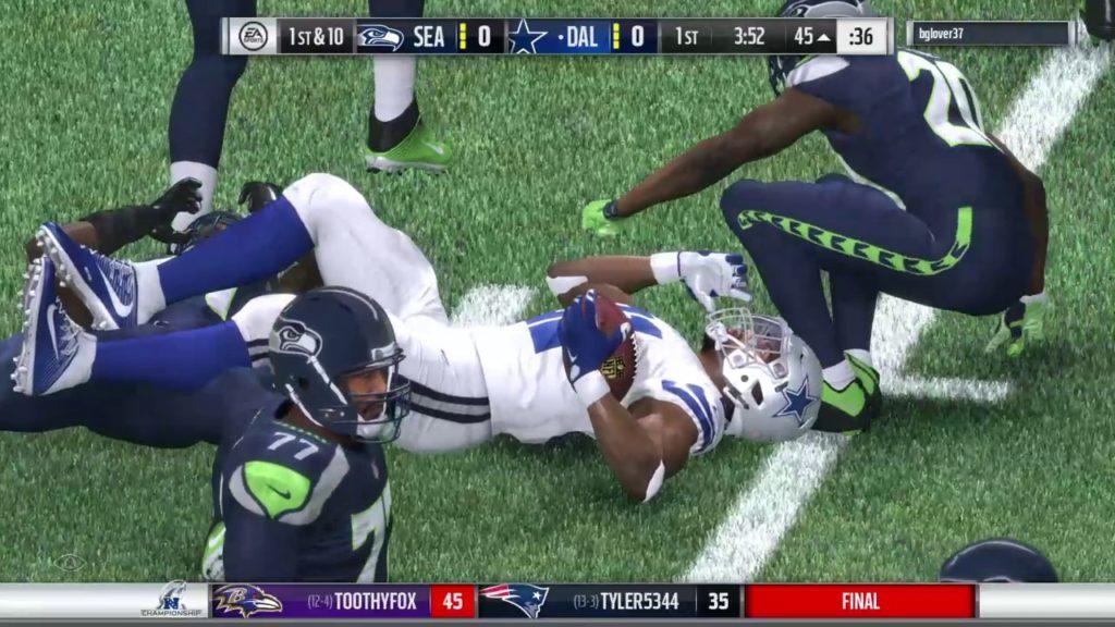 JMSFA S1 NFC Championship Cowboys vs Seahawks