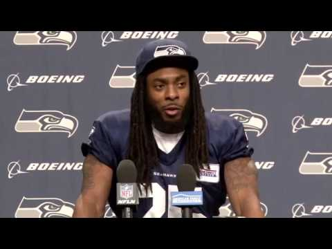 Richard Sherman Press Conference 11/09 | Seattle Seahawks