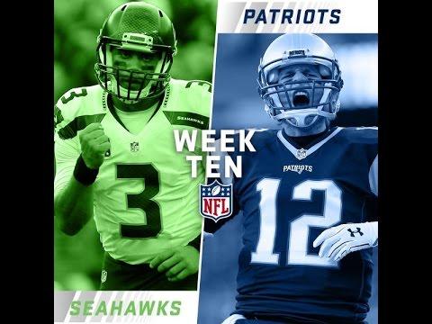 Super Bowl XLIX Rematch: Seattle Seahawks vs New England Patriots