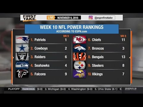 ESPN First Take – Are The Seattle Seahawks Overrated?