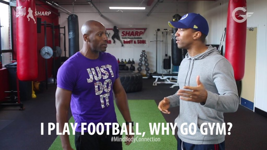 GenFit VBLOG 28: Q&A (Why go to the gym, I play football)