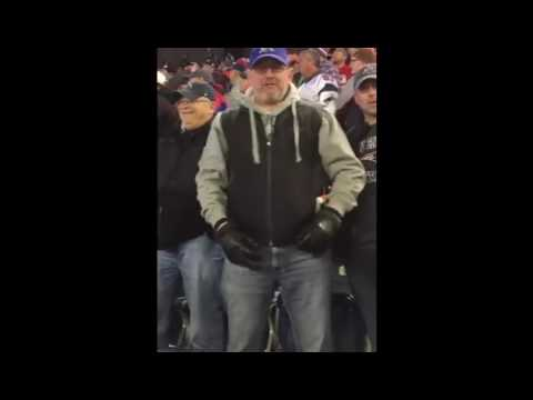 Patriots Fan Chew Out Seahawks Fan After Game