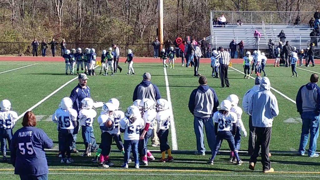 NorthEnd SeaHawks Junior Peewee. Vs. The Titans Junior Peewee 11/13/16. 3(3)
