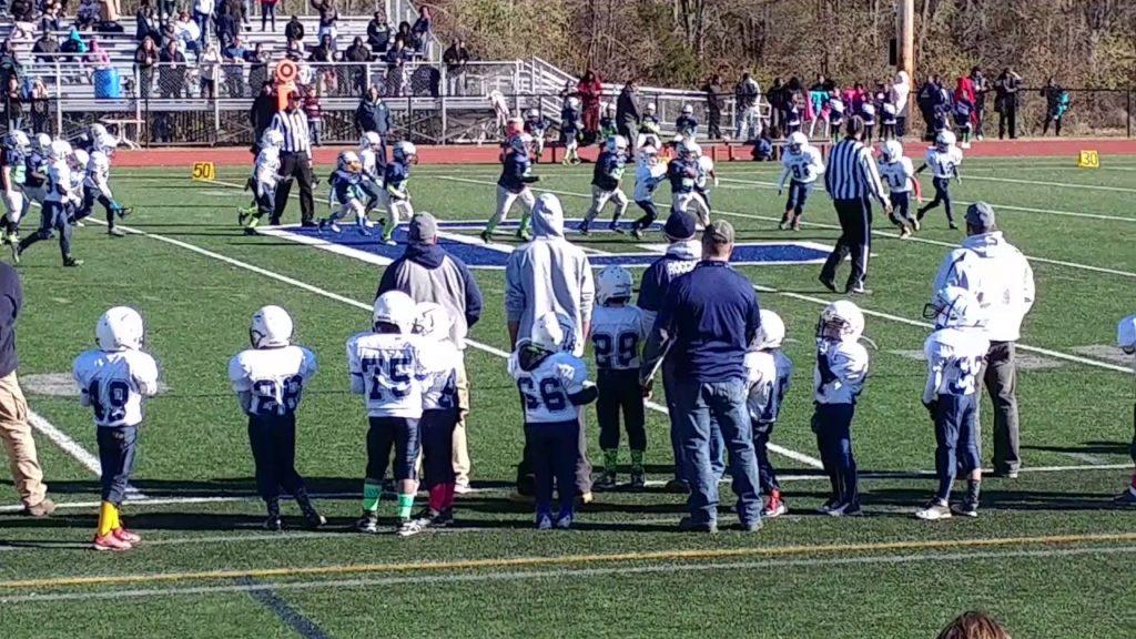 NorthEnd SeaHawks Junior Peewee. Vs. The Titans Junior Peewee 11/13/16. 3(1)