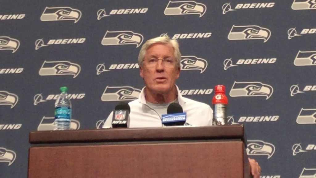 Pete Carroll still jazzed day after Seahawks' win at New England