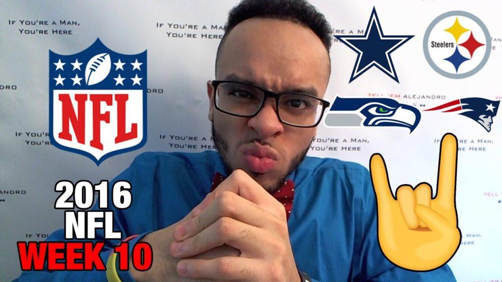TEA: RECAP 2016 NFL Week 10, Cowboys CLUTCH win vs Steelers! Seahawks GOAL LINE STAND vs Patriots!