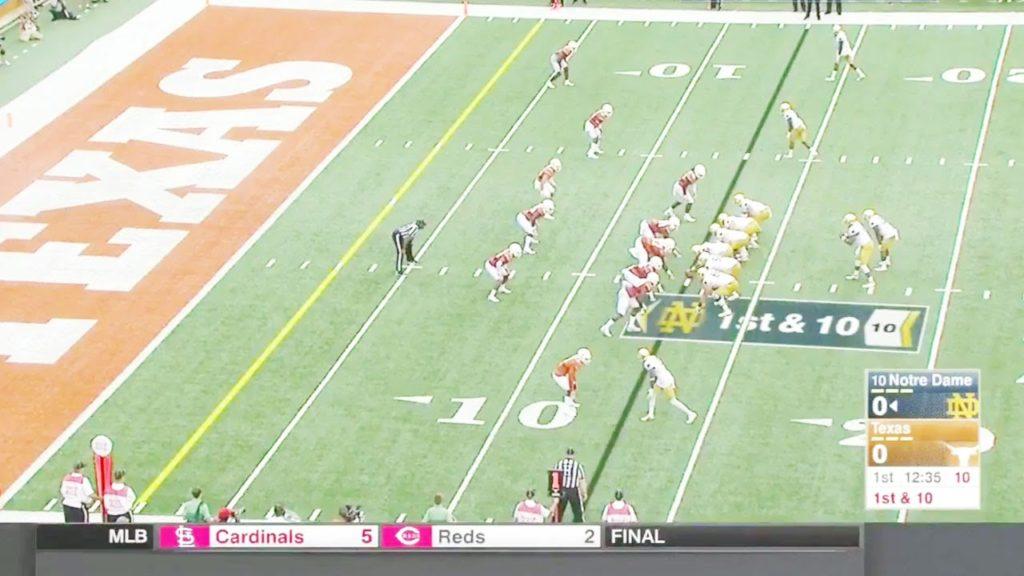 Notre Dame at Texas | 2016 Big 12 Football Highlights HD