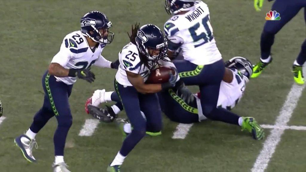Seahawks vs  Patriots Highlights Nov 13, 2016