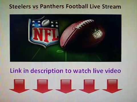 Pittsburgh Steelers vs Carolina Panthers live stream NFL Football game