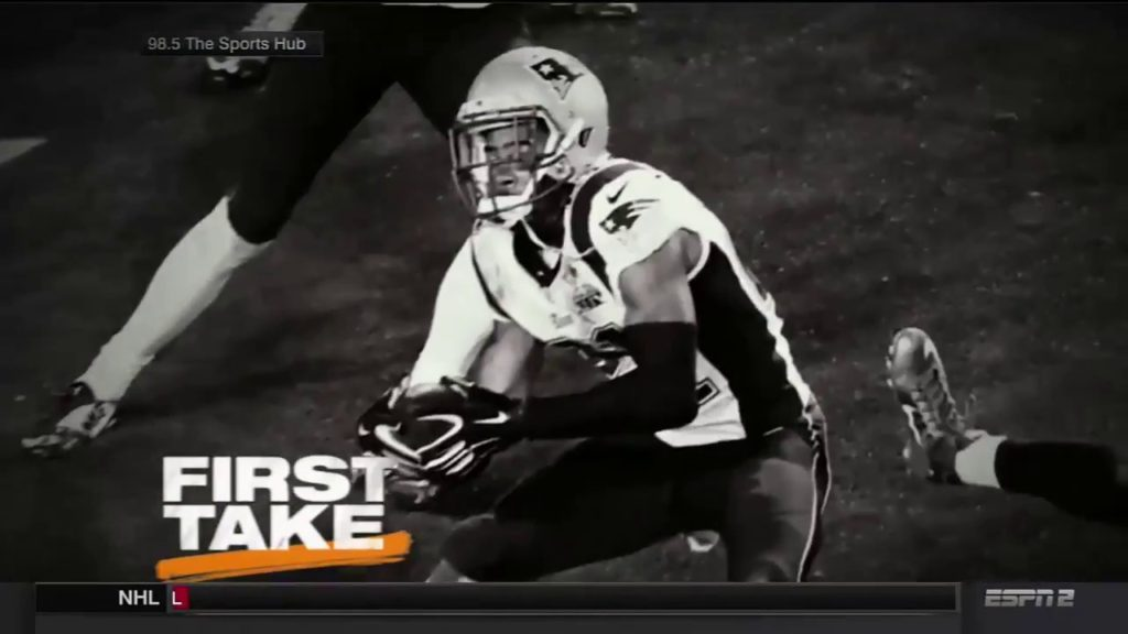 ESPN First Take New England Patriots vs  Seattle Seahawks