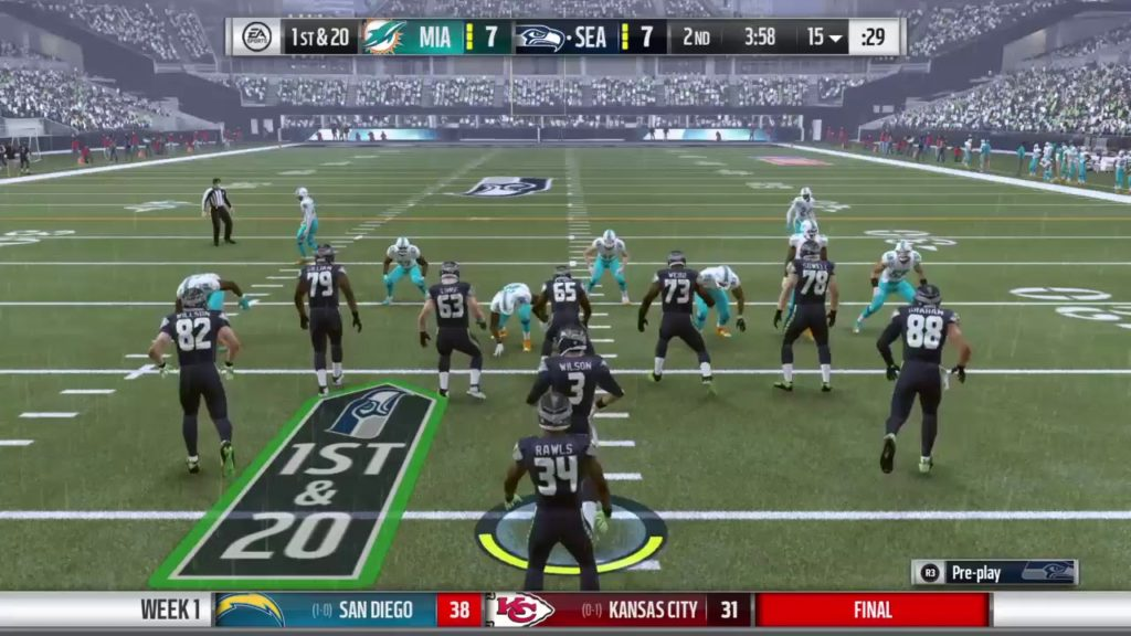 Madden 17 Season Mode   Miami Dolphins at Seattle Seahawks Part 2