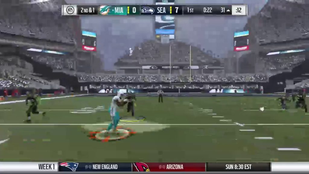 Madden 17 Season Mode   Game 1   Miami Dolphins at Seattle Seahawks