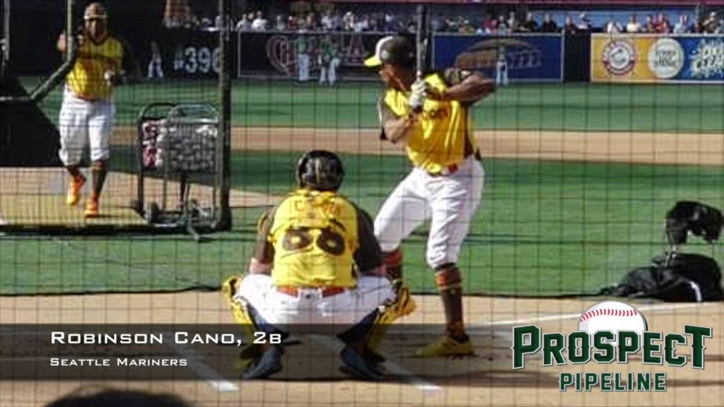 Robinson Cano, 2b, Seattle Mariners, Swing Mechanics at 200 FPS #HRDerby