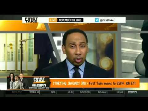 ESPN First Take Today 11 18 2016   Eagles 5 4 at Seahawks 6 2 1   Sunday, 4 25 ET
