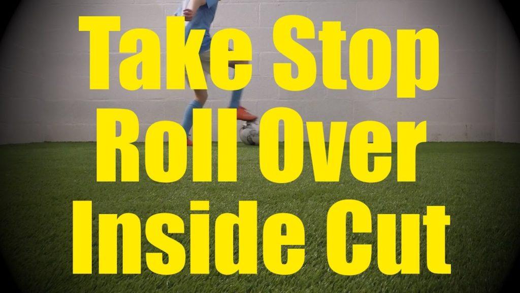 Take Stop Roll Over Inside Cut – Static Ball Control Drills – Soccer Coerver Training for U10-U11