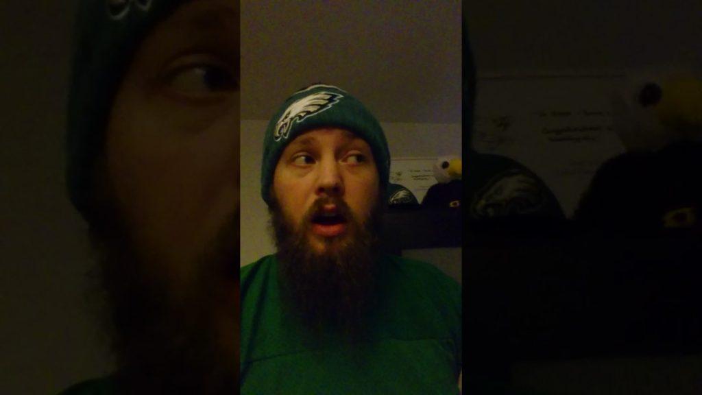 Oi #17 GET OFF MY TEAM!!! Seahawks v Eagles!!  20/11/2016!!