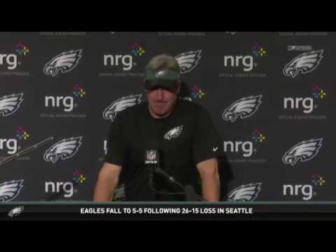 Press Pass: Doug Pederson;  Eagles Loss to Seahawks
