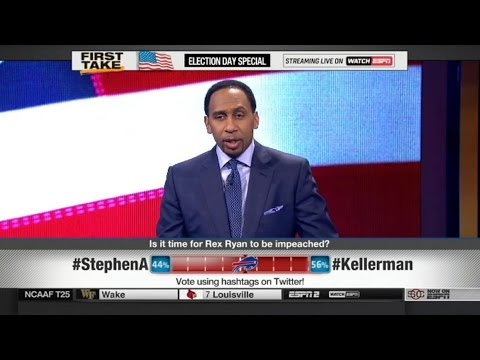 ESPN First Take – Seattle Seahawks Defeat Buffalo Bills: Is It Time For Rex Ryan To Be Impeached?