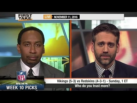ESPN First Take – NFL Week 10 Predictions All Games (FULL)