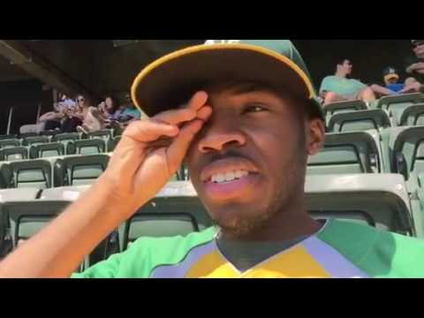 Going to the A's game #SeattlevsOakland