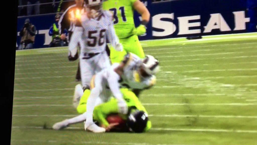 Seahawks punter dies on the field