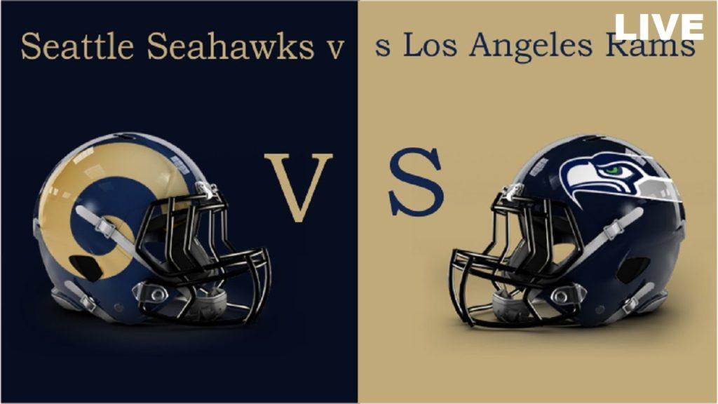 Los Angeles Rams Vs. Seattle Seahawks | LIVE NFL 2016 [720p]