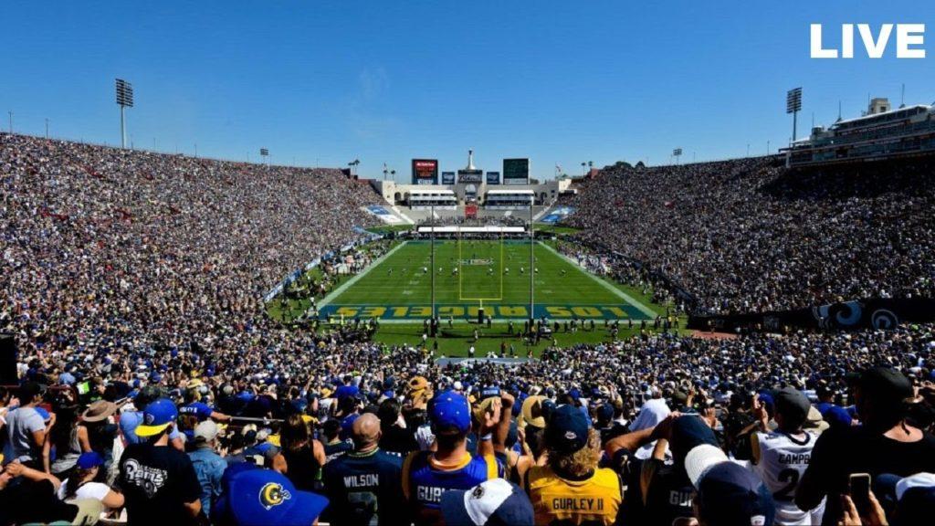 Seattle Seahawks vs Los Angeles Rams Live
