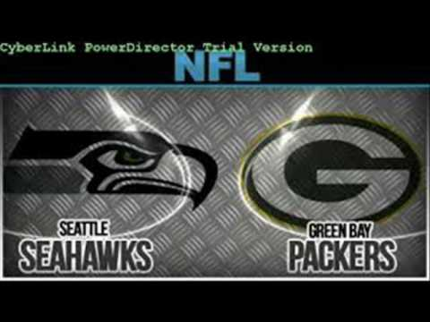 Seattle Seahawks VS Green Bay Packers Sunday