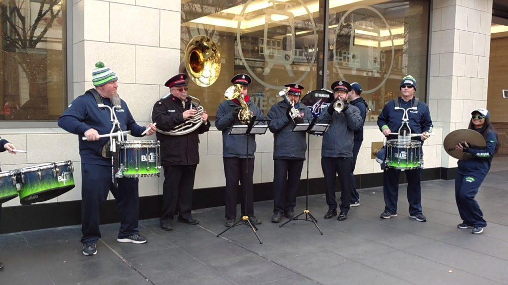 Seahawks band 1