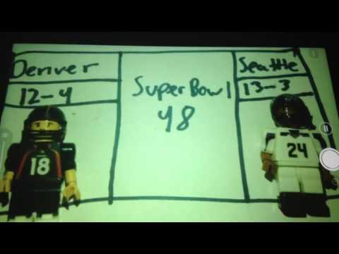 Super Bowl XLVIII Broncos vs. Seahawks